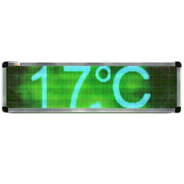 Tablica LED RGB 128x32