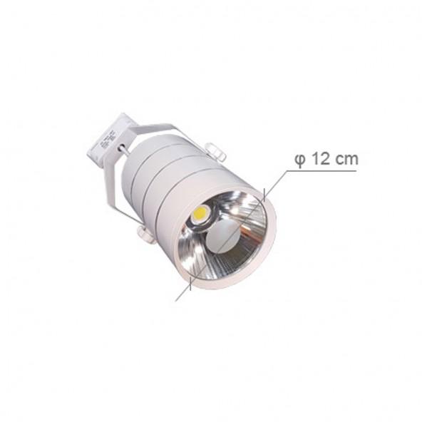 Lampa SKLEPOWA LED (BIAŁA) - 6'000 K