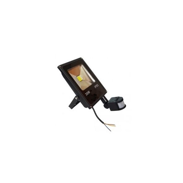 Naświetlacz LED 30W z czujnikiem