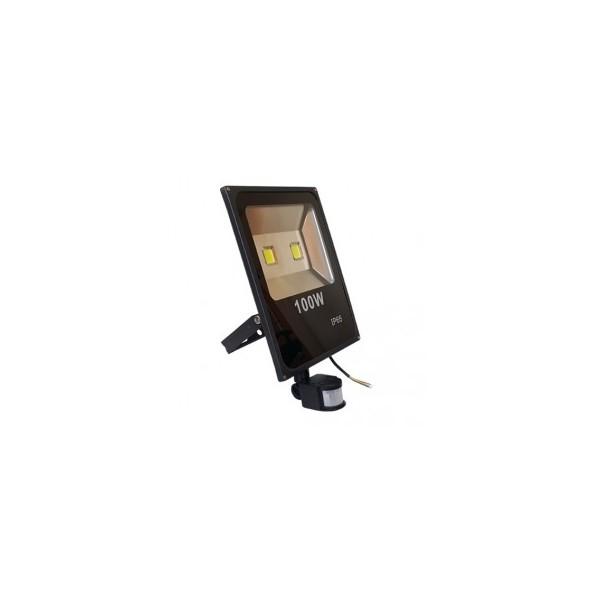 Naświetlacz LED 100W z czujnikiem
