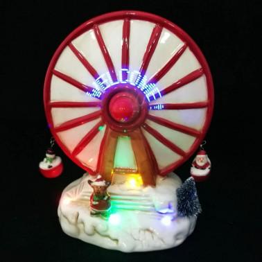 Porcelanowa karuzela świąteczna