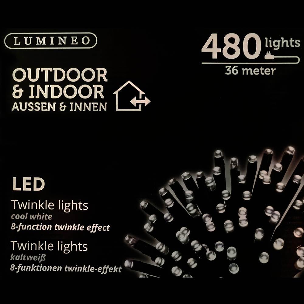 Sznur 480 LED zimny biały 36m