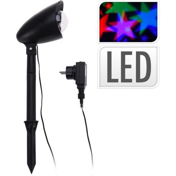 Laser LED projektor gwiazdy