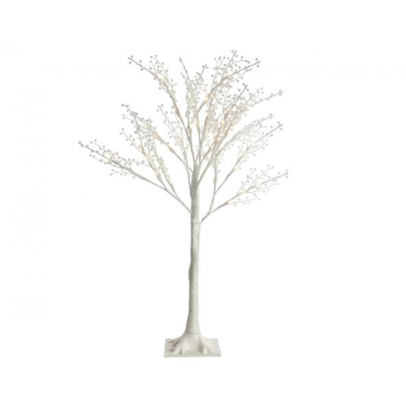 Drzewo białe 144 LED 1.8m