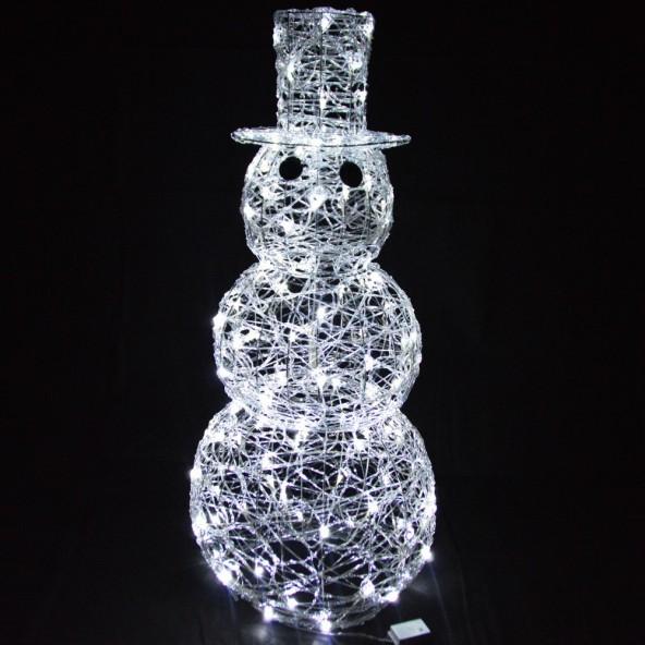 Figura bałwana 120 LED 120cm
