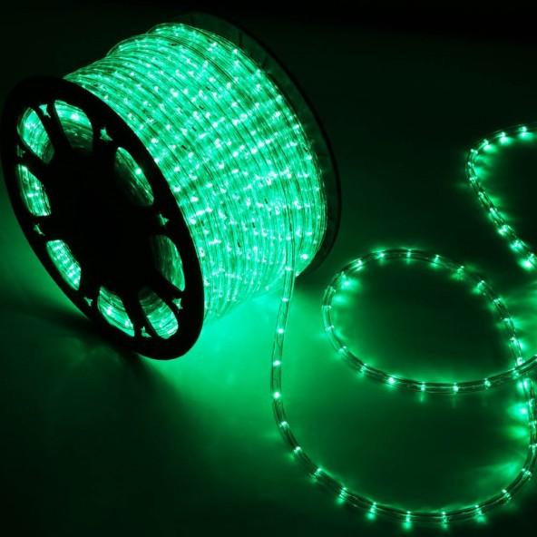 Wąż LED zielony