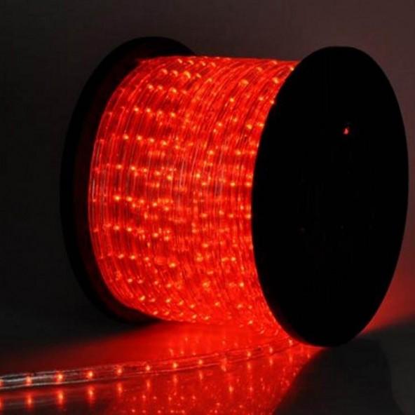 Wąż LED czerwony