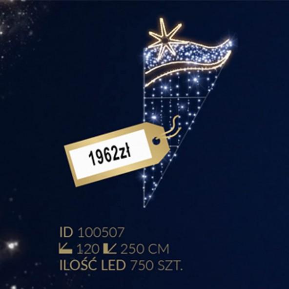 Motyw latarniowy 750LED