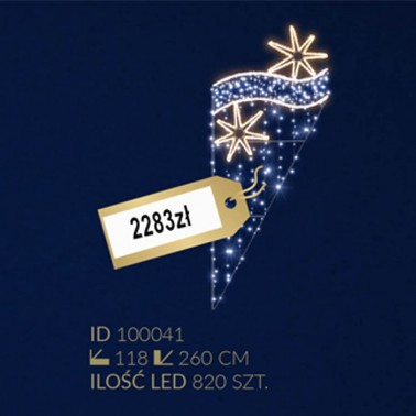 Motyw latarniowy 820LED