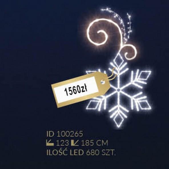 Motyw latarniowy 680LED
