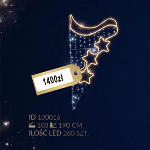 Motyw latarniowy 260LED