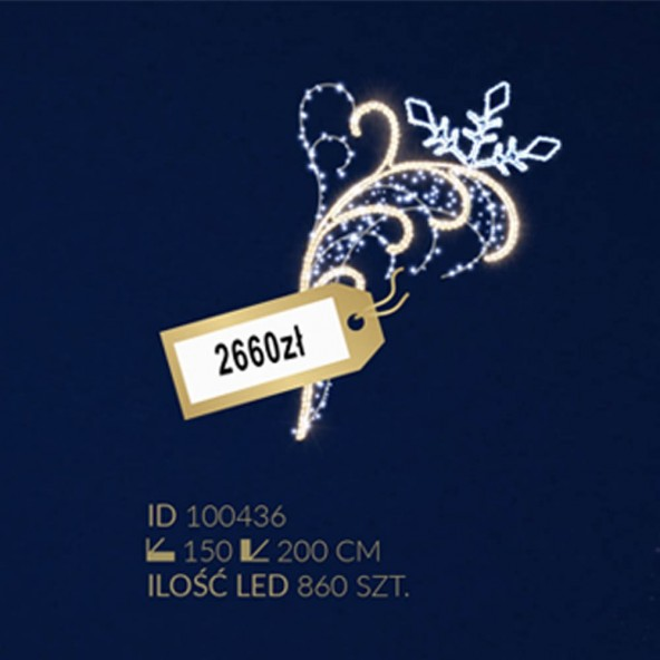 Motyw latarniowy 860LED
