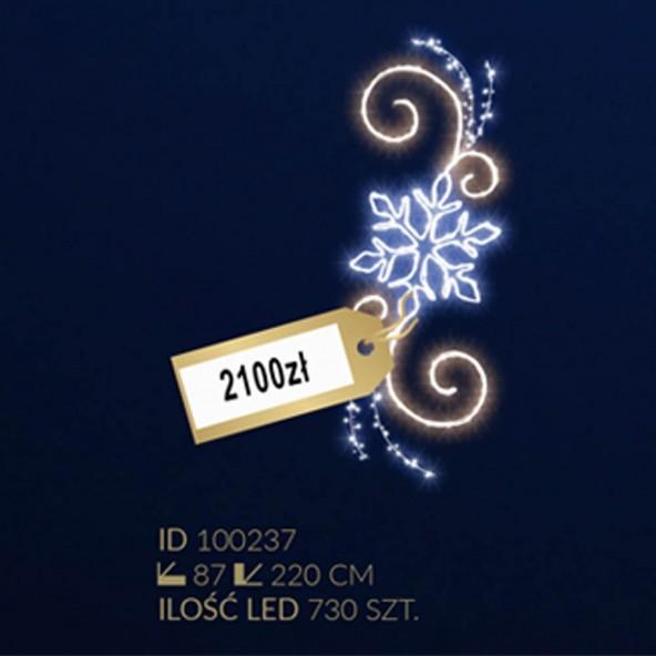 Motyw latarniowy 730LED