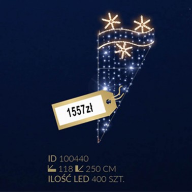 Motyw latarniowy 400LED