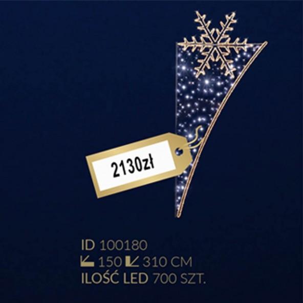 Motyw latarniowy 700LED