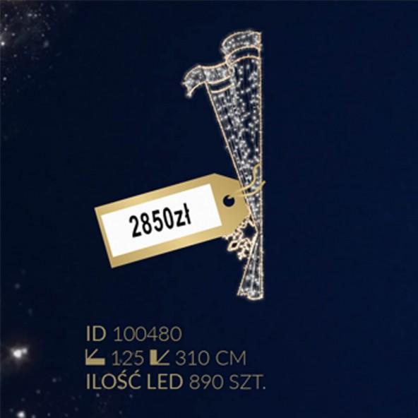 Motyw latarniowy 890LED