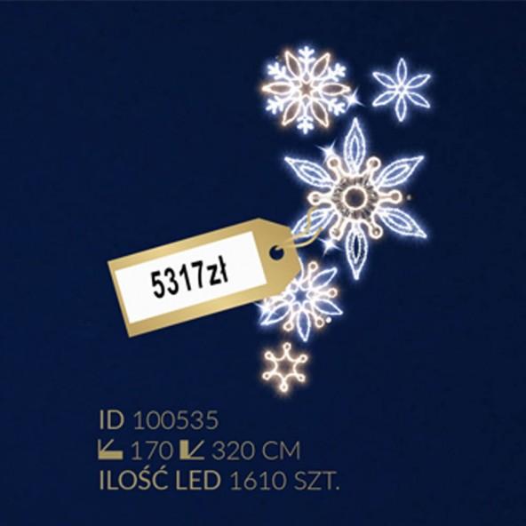 Motyw latarniowy 1610LED