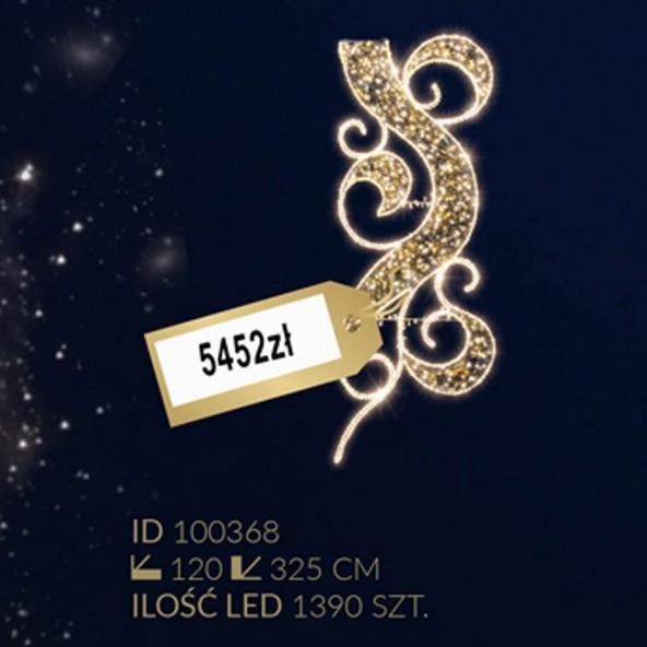 Motyw latarniowy 1390LED