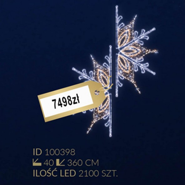 Motyw latarniowy 2100LED