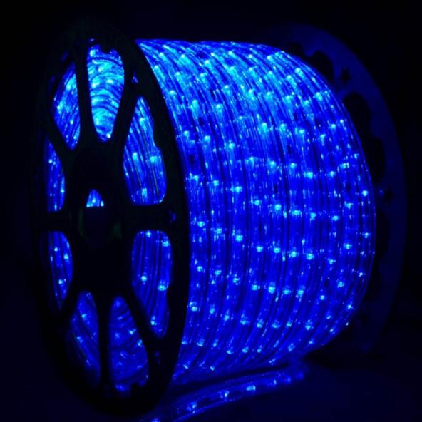 Wąż LED niebieski
