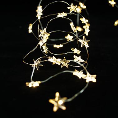 Gwiazdki biały ciepły 40 LED