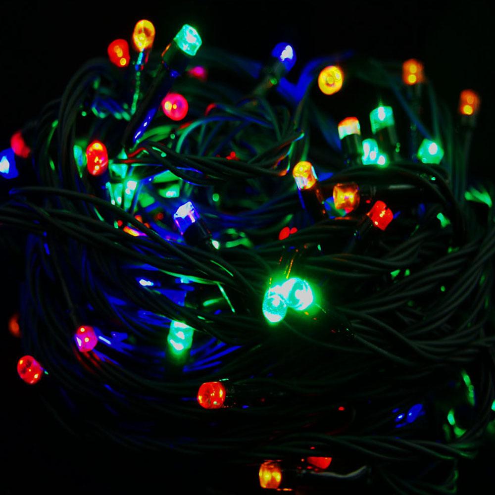 Sznur 200 LED multikolor 15m