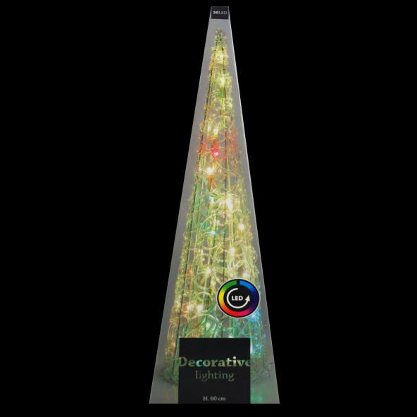 Choinka kryształ 30 LED