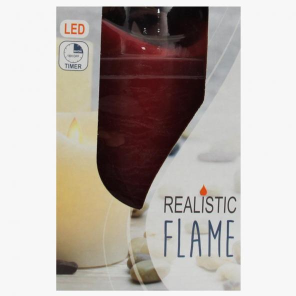 Świeczka LED czerwona