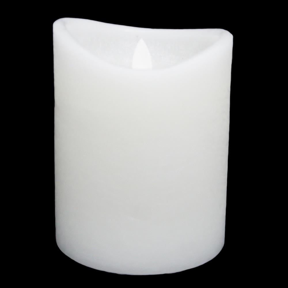Świeczka LED biała
