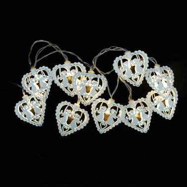 Lampki z nakładką LED