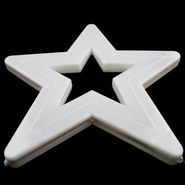 Gwiazda duża niebieska LED