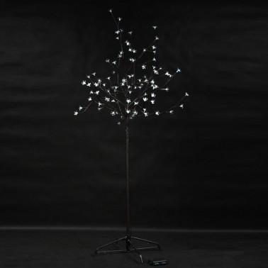 Drzewo kwiaty LED biały zimny