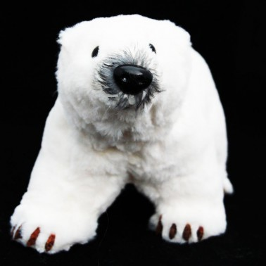 Pluszak niedźwiedź biały pazurki