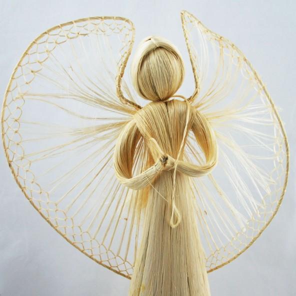Słomiany anioł 64cm
