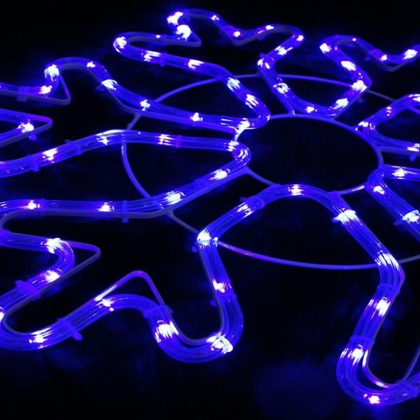 Śnieżynka wąż LED