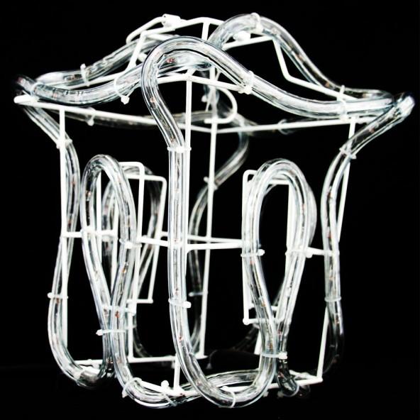 Lampion z węża LED