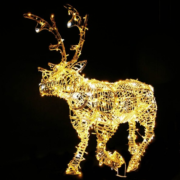Wielki Renifer LED